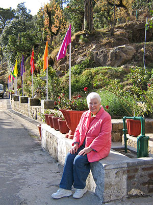 Janice Tait first trip to India Image